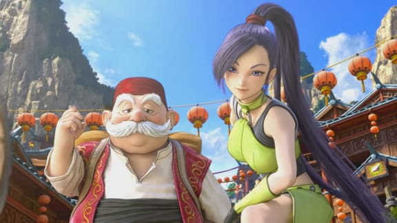 Dragon Quest XI visar upp prologfilm inför nästa veckas lansering