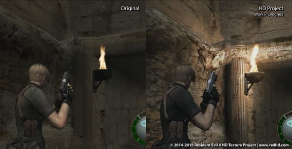 Resident Evil 4 HD Project är klart för nedladdning nu, typ