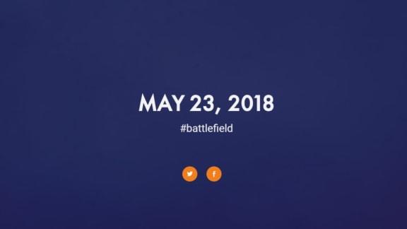 Nya Battlefield avslöjas den 23 maj