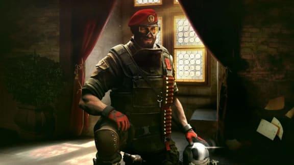 Här är Maestro, den andra av de två nya operatörerna till Rainbow Six Siege