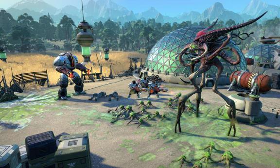Age of Wonders: Planetfall visar upp sina första spelsekvenser