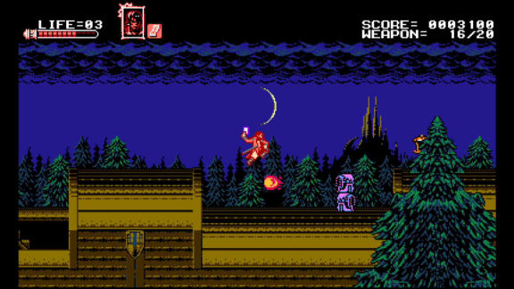 Castlevania-doftande Bloodstained: Curse of the Moon gör succé på Steam