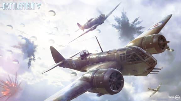 Battlefield V presenterar ett fallskärmsläge