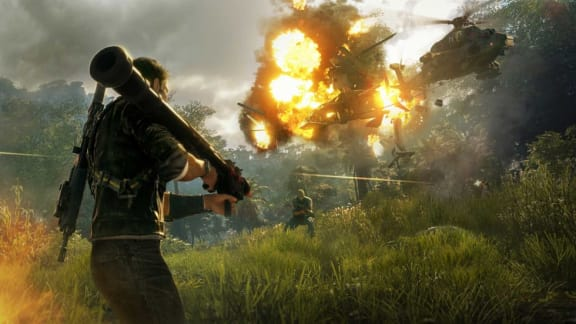Imponerande teknik i Just Cause 4