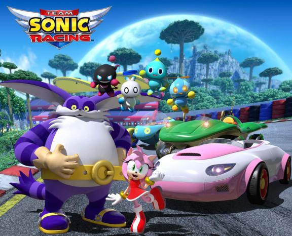 Big the Cat är med i Team Sonic Racing!