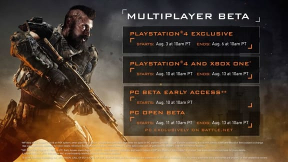 Call of Duty: Black Ops 4 får öppen pc-beta i augusti
