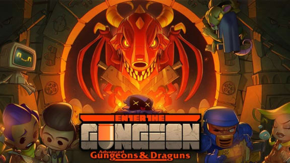 Stor gratisexpansion till Enter the Gungeon släpps på torsdag!