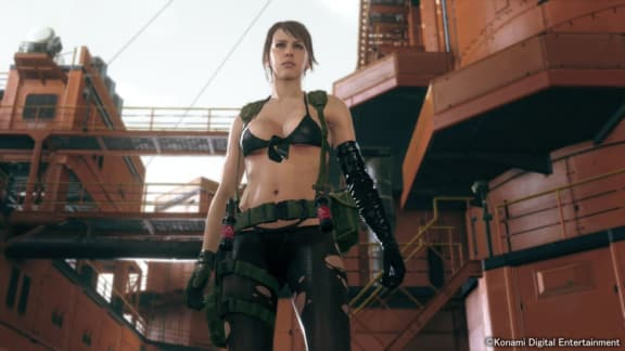 Quiet är numera spelbar i Metal Gear Solid 5