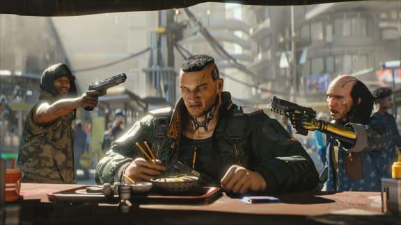 Cyberpunk 2077 visar upp sig i ny, läcker trailer