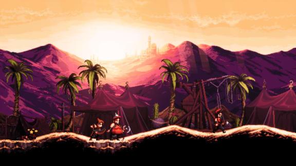 The Siege and the Sandfox är ett steathbaserat metroidvania!