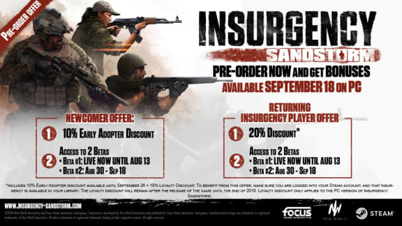 Insurgency: Sandstorm släpps den 18 september