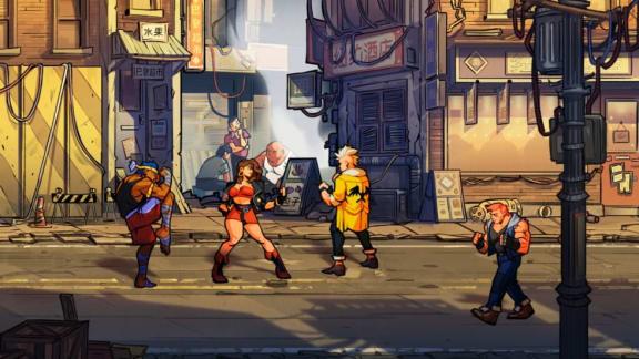 Kolla in den första gameplay-teasern för Streets of Rage 4