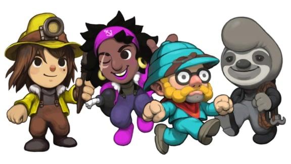 Spelunky 2 kommer bjuda på online multiplayer och vätskefysik!