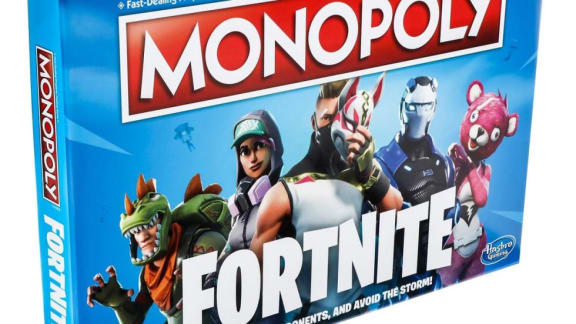 Fortnite blir Monopol, släpps den 1 oktober!