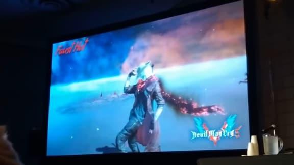 Dante användar sin hatt som vapen i nytt Devil May Cry 5-klipp
