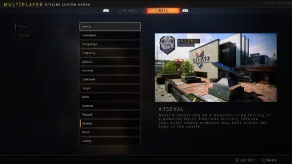 Här är alla kartor som Call of Duty: Black Ops 4 kommer ha vid lanseringen