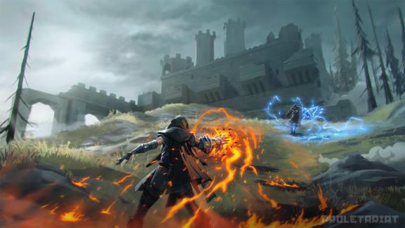 Harry Potter möter battle royale i Spellbreak