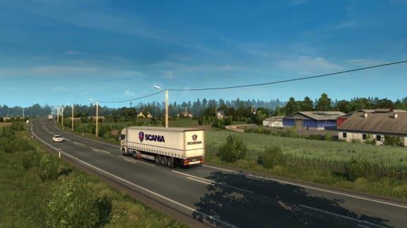 Euro Truck Simulator 2 drar till Finland, Ryssland och Baltikum!