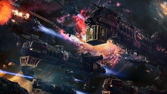 Ny videoserie ger oss överblick av striderna i Battlefleet Gothic: Armada 2