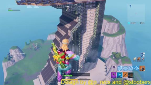 Någon har byggt Avengers-tornet i Fortnite, sex gånger högre än Tilted Towers!