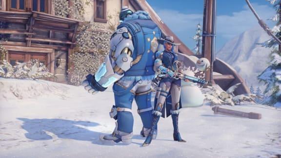 Overwatch vinterfirande har börjat, kolla in alla nya skins!