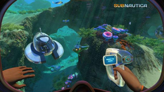 Nu skänks Subnautica bort gratis via Epic Games Store