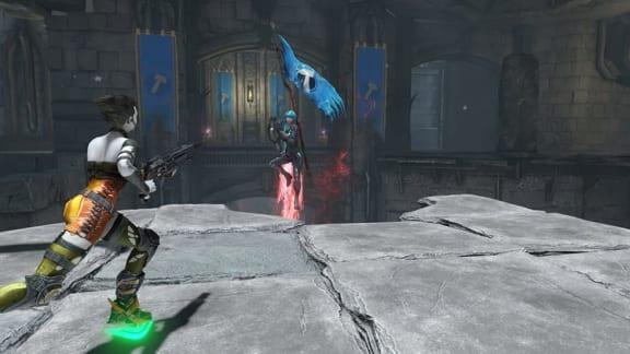 Nu har Quake Champions äntligen fått Capture the Flag!