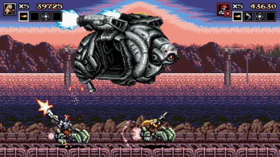 Contra-doftande Blazing Chrome visar upp sig i ny gameplayvideo