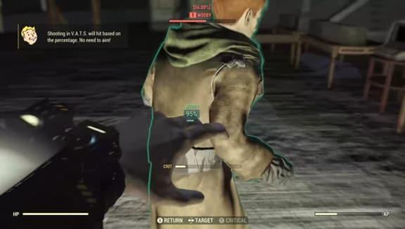 """Fallout 76-spelare har hittat en mänsklig npc i hemligt """"utvecklarrum""""!"""