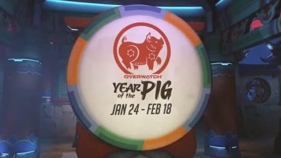 Overwatch kinesiska nyårs-event inldes den 24 januari
