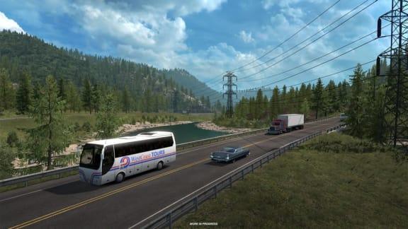 American Truck Simulator drar till Washington!