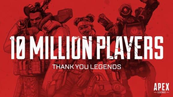 Apex Legends är en braksuccé, har redan 10 miljoner spelare