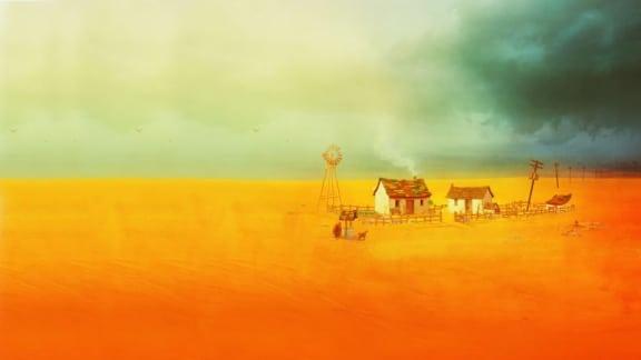 Melankoliska jordbruksspelet The Stillness of the Wind har släppts
