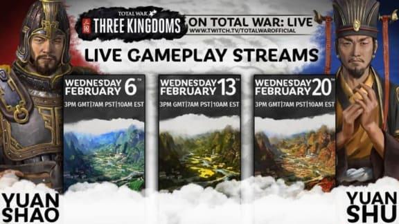 Total War: Three Kingdoms försenas igen, den här gången till den 23 maj