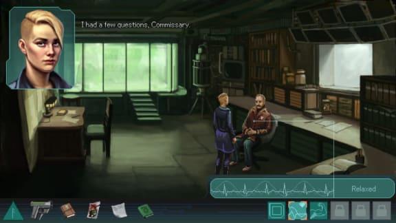 Spela som nordisk sci-fi-snut i svenska äventyrsspelet Whispers of a Machine