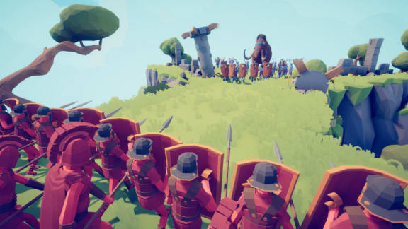 Totally Accurate Battle Simulator har lanserats i early access