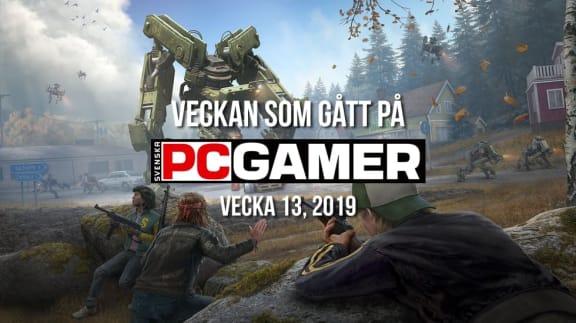 Veckan som gått på PC Gamer (v. 13, 2019)