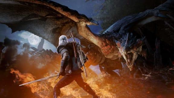 Geralt kommer äntligen till Monster Hunter: World, stor The Witcher-rea på Steam