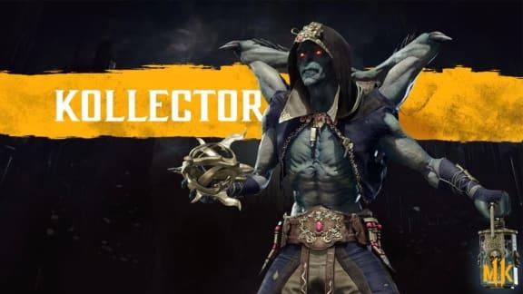 Ny Mortal Kombat 11-trailer visar helt nya kämpen Kollector