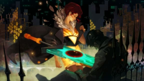Transistor är gratis via Epic Games Store just nu, följs upp av World of Goo
