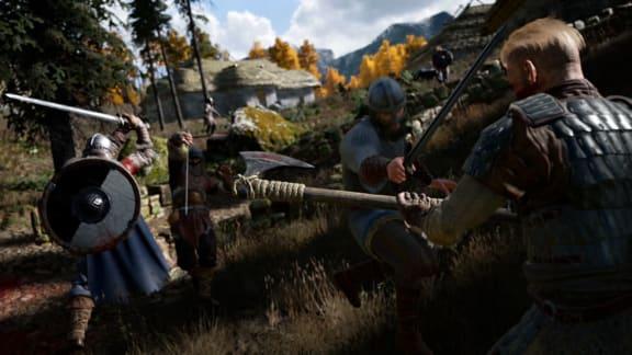 Battle royale-spelet Valhall visar upp sig i ny video