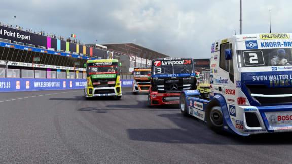 Äntligen! FIA European Truck Racing Championship får ett eget spel