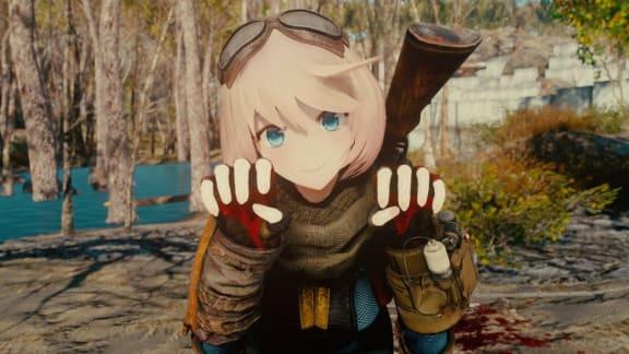 Animeflickorna invaderar Fallout 4 i ny fantastisk modd!