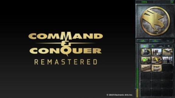 Command & Conquer Remastered har gått in i produktionsstadiet, visar upp användargränssnittet