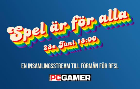 Spel Är För Alla – Vi streamar för välgörenhet den 28e juni!