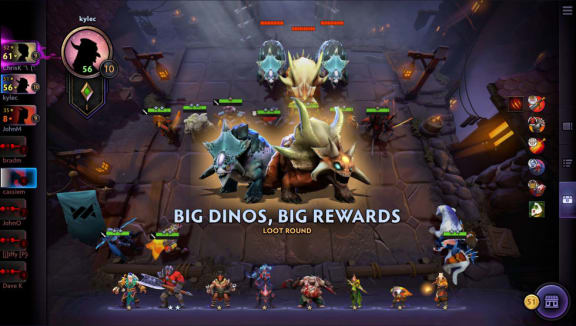 Dota Underlords lämnar early access i februari
