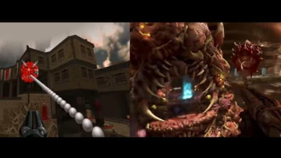Doom Eternals E3-trailer har återskapats i Doom 2!