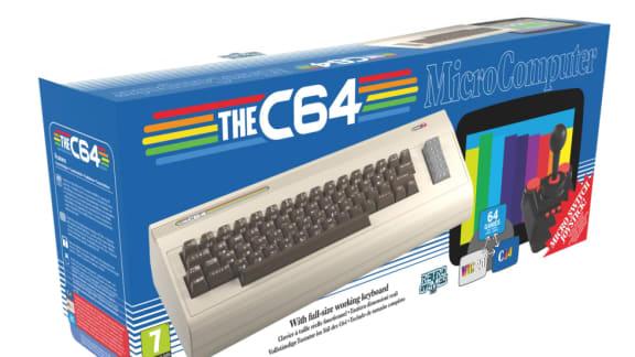 Fullskaliga Commodore 64-kopian The C64 släpps i december