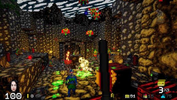 Nya retro-fps:et Nightmare Reaper är ute i early access nu