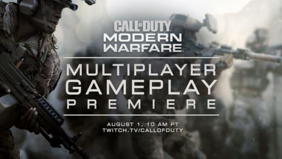 Call of Duty: Modern Warfare visar mutiplayerintro inför torsdagens avtäckning